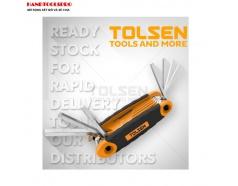 Bộ Lục Giác Hệ inch Xếp Tolsen 20098 (8 PCS)