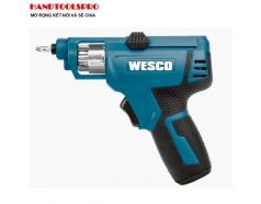 Bộ Máy Vặn Vít Pin 4V WESCO WS2013