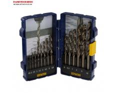 Bộ mũi khoan kim loại HSS COBALT 15 chi tiết IRWIN 10503990