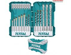 Bộ mũi khoan và mũi bắt vít đa năng 22 chi tiết Total TACSDL12201