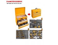 Bộ thùng đồ nghề 97 chi tiết Ingco HTCS220971