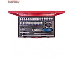 Bộ tuýp bông 33 chi tiết hệ mét 8-32mm Kingtony 4034MR06