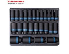 Bộ tuýp đen dài 25 chi tiết 8-36mm Kingtony 9-4435MP