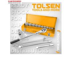 Bộ tuýp và cần mở 3/4 inch 15 chi tiết TOLSEN 15148