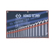 Bộ vòng miệng 18 chi tiết Kingtony 1218MR01 6 - 24mm