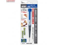 Bút thử điện 100-240V hiển thị đèn Led No.2036‐L Anex Nhật Bản