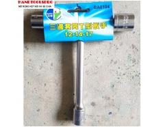 Cần Siết Chữ T 3 đầu xiết 12-14-17mm  BUDDY BA0104