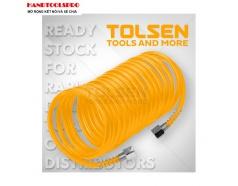 Cuộn dây hơi thẳng dẫn khí nén 10m TOLSEN 73151