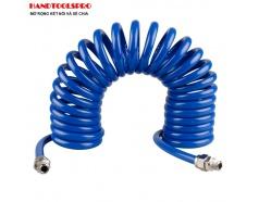 Cuộn dây hơi xoắn 8x12mm dẫn khí nén 10m Kingtony 79953-10 79953-15