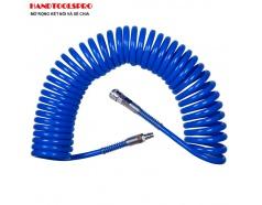Cuộn dây hơi xoắn 8x12mm dẫn khí nén 20m Kingtony 79960-20 79960-10 79960-15