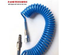 Cuộn dây hơi xoắn ĐÀI LOAN dẫn khí nén 6m BUDDY BE0031-6