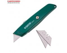 Dao rọc cáp đa năng 18mm, thân hợp kim SATA 93441
