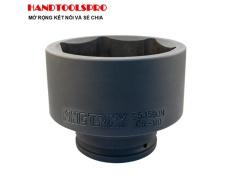 Đầu tuýp đen ngắn chuyên dụng hệ inch 1-1/2″ lục giác 2-3/16 KINGTONY 953570S