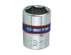 Đầu tuýp ngắn 1/4″ lục giác 10mm Kingtony 233510M