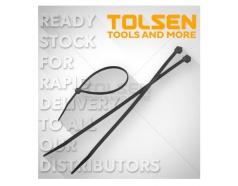 Dây rút nhựa đen Tolsen 50120 (Túi 100 sợi) 50115 50118