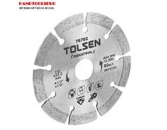Đĩa Cắt Gạch Khô Tolsen 76707- Bạc (230 x 22.2 mm)