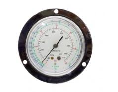 Đồng hồ gas ( đỏ , viền inox ) FGT-134H GITTA