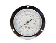 Đồng hồ gas ( xanh , viền inox ) FGT-134L GITTA