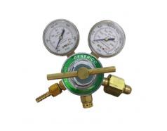 Đồng hồ gió Oxygen màu vàng GENERICO, 752-X