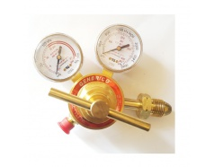 Đồng hồ khí Acetylen màu đỏ GENERICO, 152-Y