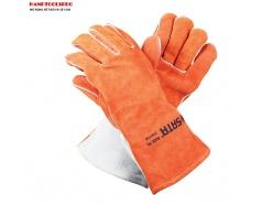 Găng tay da bò cách nhiệt Sata FS0105