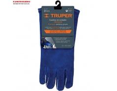 Găng tay da ngành hàn chống cháy Truper 15246 (GU-515)