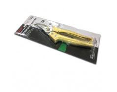 Kéo Cắt Cành 8 (200mm) Mỏ Cong, Cán Vảy Cá Màu Vàng Top - 120323-PSG