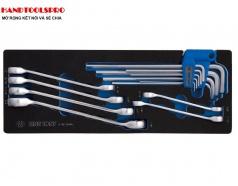 Khay dụng cụ sửa chửa hệ inch 15 món KINGTONY 9-90135SRV