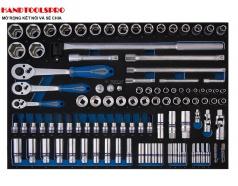 Khay tuýp 3/8 và 1/4 inch 103 chi tiết Kingtony 9-9503MRV01