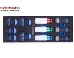 Khay tuýp đen 11 chi tiết 1/2 inch KINGTONY 9-4401MPV