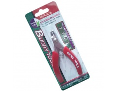 Kìm cắt chính xác miệng cong inox 4.5″ BUDDY BG0012