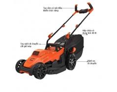 Máy cắt cỏ Black&Decker BEMW461BH