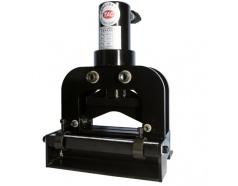 Máy cắt thanh đồng chữ V 200x10 mm thủy lực TAC CWC-200V