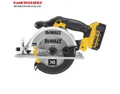 Máy cưa tròn dùng pin 4Ah Dewalt DCS391M2 ( Túi Vải)