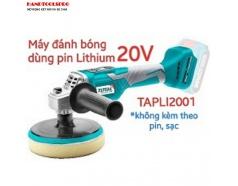 Máy đánh bóng dùng pin KHÔNG KÈM PIN SẠC Lithium 20V total TAPLI2001
