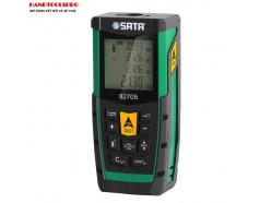 Máy đo khoảng cách laser 80m Sata 62705