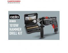 Máy khoan điện 1010W với 51 phụ kiện Ozito HDR-1100