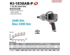 Máy mở bu lông 2 búa 1 inch 2.440N.m Kuani KI-1838AB-P