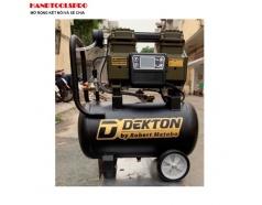 Máy nén khí không dầu màn hình điện tử 25 lít DEKTON DK-662