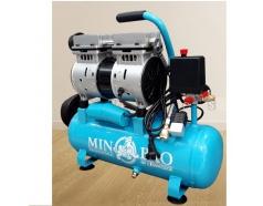 Máy nén khí mini không dầu 0.75HP Minbao MB-O9L - Dung tích 9L