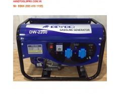 Máy phát điện chạy xăng 2.2KVA DEWOO DW-2200