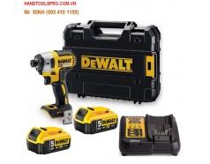 Máy vặn vít dùng pin 18V-5Ah Dewalt DCF887P2
