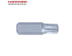 Mũi vít đóng sao có lỗ T60X36mm Kingtony 163660U (vỉ 12 cây)