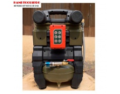 Nén khí 6 lít Brushless DEKTON DK-2090 Pin và Điện