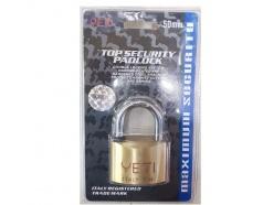 Ổ khóa đồng thau chìa điện tử 40mm Yeti