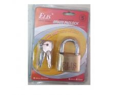 Ổ khóa đồng thau chìa hỏa tiễn 50mm ELIS