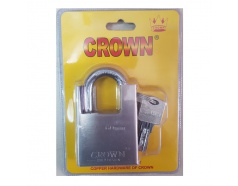Ổ khóa trắng chống cắt 60mm CROWN