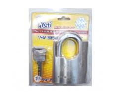 Ổ khóa trắng chống cắt chìa điện tử 70mm Yeti 2015