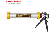 Súng bơm silicon ống nhôm INGCO HCG0115