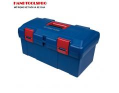 Thùng đồ nghề nhựa 445 x 240 x 206mm Kingtony 87407